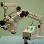 Microscopio operatorio portatile (chirurgie fuori sede principale)